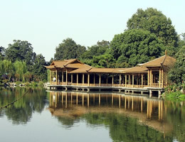 Lakeside Buildings on the West Lake