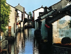 Ancient Water Town in Hangzhou